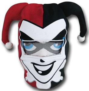 Harley Quinn Mask Beanie Hat