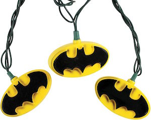 Batman Logo String Lights