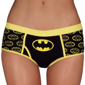 Batman Logo Yellow Lace Womens Underwear Panties Lingerie. DC Comics Batman 3 Pack Lace Trim Panty Hipster Briefs for women. by Underboss. $ $ 27 FREE Shipping on eligible orders. out of 5 stars 4.