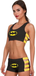 Batman Banded Bra And Panty Set