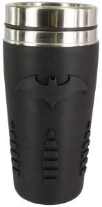 Batman Rubberized Logo Travel Mug
