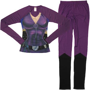 Catwoman Long Sleeve Pajama Set