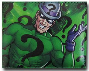The Riddler Sublimation Men's Wallet