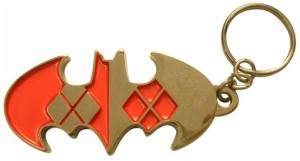 Bat Quinn Key Chain