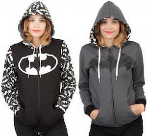 Batman Logo Reversible Hoodie