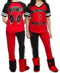 Harley Quinn 2 Piece Pajama Set