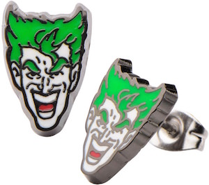 The Joker Stud Earrings