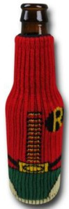 Robin Knitted Can And Bottle Cooler
