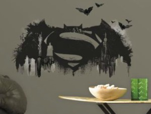 Batman V Superman Giant Logo Decal