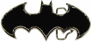 Die Cut Batman Logo Belt Buckle