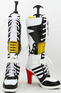 Harley Quinn Boots From Suicide Squad