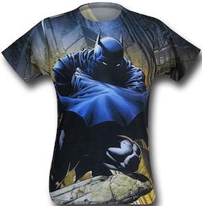 Batman And His Cape Sublimation T-Shirt
