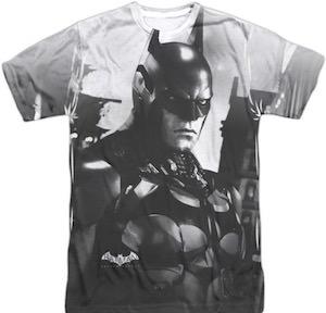 Batman Black And White T-Shirt