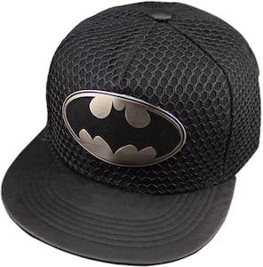 Batman Logo Cap With Mesh Looking Cover