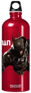 Batman With Batclaw Metal Water Bottle