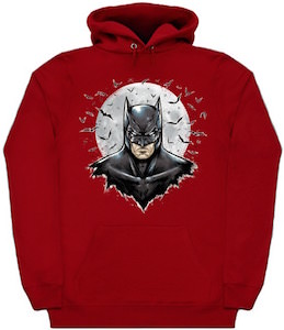 Batman And The Moon Hoodie