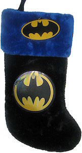 batman logo christmas stocking getbatmancom