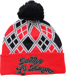 Harley Quinn Daddy's Lil Monster Beanie Hat