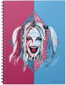 Laughing Harley Quinn Spiral Notebook