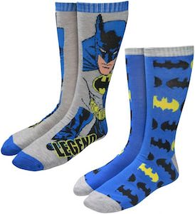 Batman Legend Socks (2 pairs)