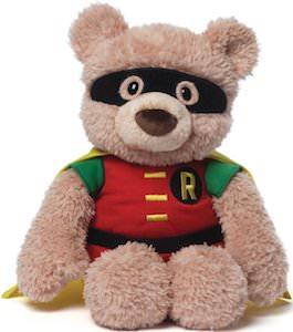 Plush Bear The Looks Like Robin The Boy Wonder