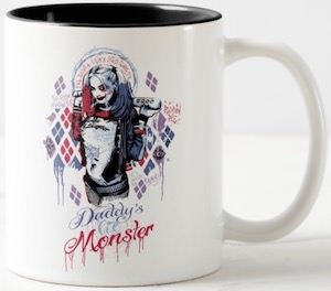 Harley Quinn Daddy's Lil Monster Mug