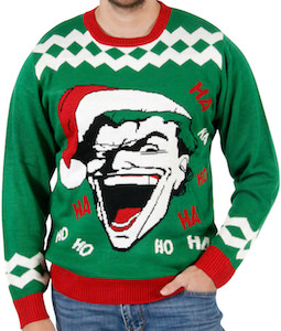 The Joker Laughing Christmas Sweater