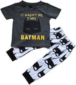 Baby It Wasn't Me It Was Batman Pajama