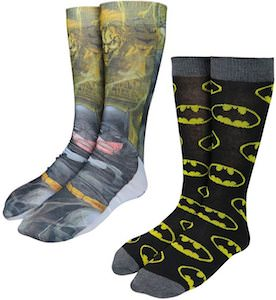 Batman And The Logo Socks Set