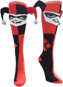 Harley Quinn Jester Socks