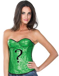 The Riddler Sequin Corset Top