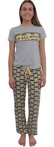 Women's Batman Up All Night Pajama Set