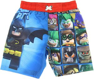 LEGO Batman Boys Swim Shorts