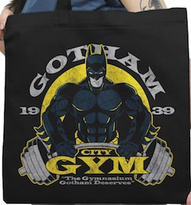 Gotham City Gym Tote Bag
