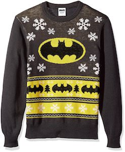 Batman Logo And Tree Christmas Sweater