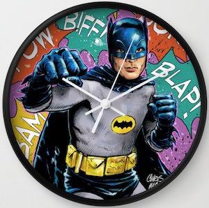 Batman Battle Wall Clock