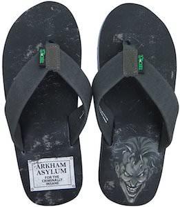 Joker Arkham Asylum Flip Flops