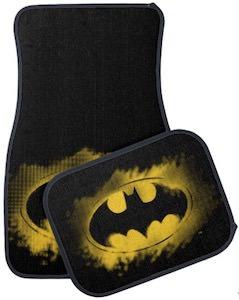 A Splash Of Batman Car Floor Mat