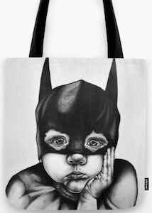 Bat Boy Tote Bag