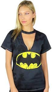Women's Batman Choker T-Shirt