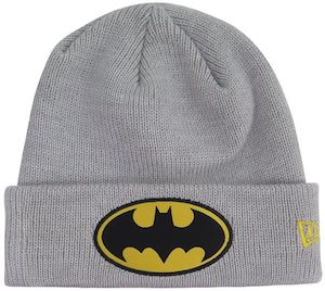 Gray Batman Beanie Hat