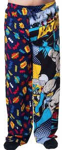 Comic Style Batman Pajama Pants