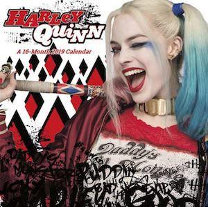 2019 Harley Quinn Wall Calendar