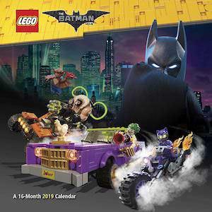 2019 LEGO Batman Wall Calendar