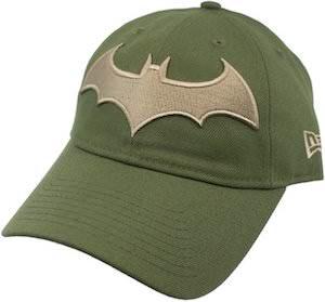 Green Batman Logo Cap