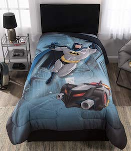 Batman and the Batmobile Comforter