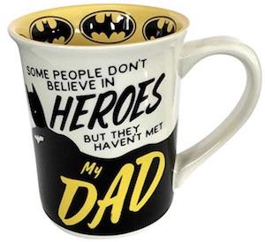 Batman My Dad Is A Hero Mug