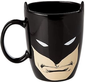Batman Face And Logo Mug