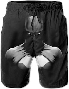 Black Batman Swim Trunks