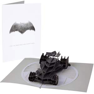 Batmobile Pop Up Card